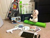 Perfect condition Nintendo Wii with an unbeleivable lot