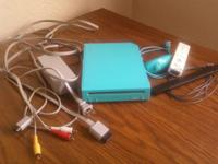 Nintendo Wii Limited Edition Blue Console $45 Wii Bully