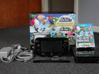 Nintendo Wii U Mario & Luigi Deluxe 32 GB Set.  Grownup