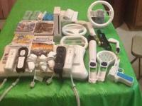 The wii is in very good condition. Comes with the