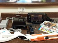 Nintendo Wii U Deluxe 32GB video game system, in