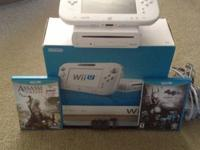 Nintendo Wii U in Excellent Condition comes with