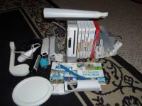 Up for sale is a gently used Wii console that has only