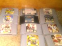 Used N64 system in good condition with all wires and 1