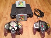 Selling my n64 system and video games. All video games