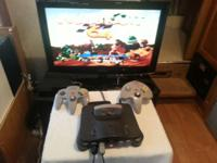 I have a nintendo 64 game system, with two controllers,