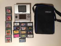 Bundle of Nintendo handheld consoles and games