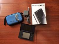 Nintendo DS Lite Onyx Black $60.  Used, in exceptional