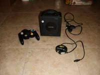 nintendo game cube, i think it has all the cables with
