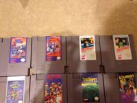 get the entire great deal of NES games $175 firm. Noted