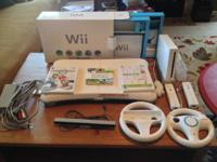 Rarely utilized Nintendo Wii repacked in initial box