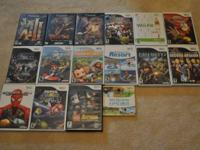 For sale is a Nintendo Wii with games, controllers w /