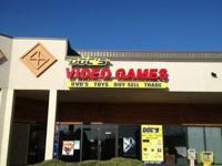 Doc's Video Games!     We are currently selling used