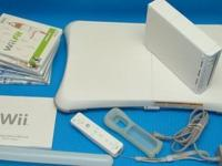 Up for sale is a Wii Bundle. Everything is super clean