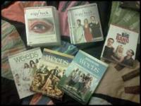 I have: season 1-2 of Nip Tuck $10 season 1-3 of weeds