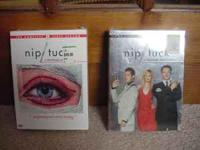 Nip/Tuck Dvd's Season 1,2 New Never Opened Shrunk