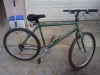 I am selling this bike its almost new barely used it.If