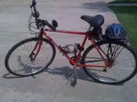 A 21 speed Hybrid 19 inch size Mtn Bike / Road