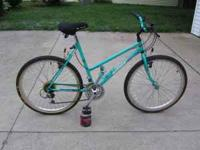 For sale is a Nishiki women's mountain bike. The bike