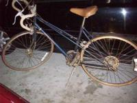 NICE ROAD BIKE WITH ALL GOOD TIRES,BRAKES,GEARS, & SEAT