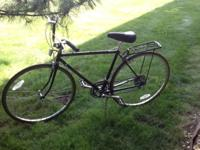 Nishiki Sport Hybrid 12speed Black with Lugged Frame