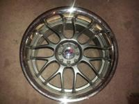 "For sale I have 4 brand new Sport Max 18"" wheels for a"