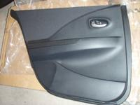 Left back interior door panel for a 2002 Nissan Altima.