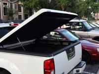 LO-PRO White Tonneau Bed Cover by A.R.E in great shape.