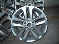 Up for sale is a set of Nissan Juke Wheels. They are
