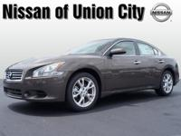 This dk. brown 2013 Nissan Maxima 3.5 S is a keeper. It