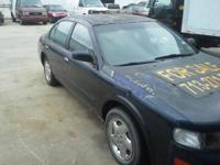 Offering a 1995 Nissan Maxima 4 doors, functioning