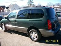 For sale is 1996 Nissan Quest Minivan that drives