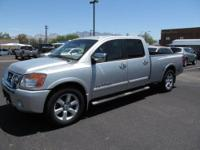For sale is a beautiful 2008 Nissan Titan 5.6. This