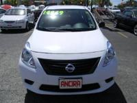 Call Rob Vargas , This used Nissan Versa 1.6 is now for
