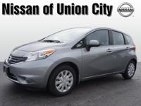 It's hard to resist this dk. gray 2014 Nissan Versa