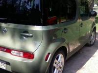 Moss Green 2010 Nissan Cube in great condition with