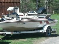 1996 nitro 17ft bass boat. Perfect condition everything
