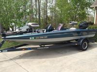 1991 Nitro fishing boat w trailer. Boat is equipped w a