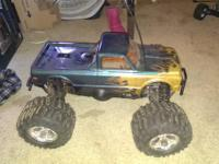 I have a nitro rustler 3.3 and losi aftershock 26ss