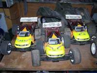 i have 3 team losi eaight truggies $500 each i have 2