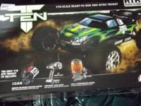 i have a brand new losi ten t bought a month ago it