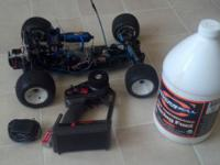 Up for sale is a RC10GT nitro car. The car does not