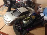 Selling my gas hpi car  This car is really fast you