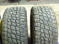 I HAVE TWO 355/60/R20 NITTO TERRA GRAPPLER ALL TERRAINS