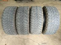 Am selling my tires is too big for my truck. Tires good