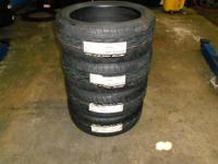 I am selling 4 semi-used NITTO tires with 4 CENTERLINE
