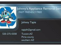 All Appliances/Scrap Metals can be hauled away free of