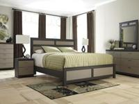 New Ashley 3 piece set includes headboard, mirror and