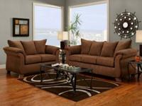 NEW SOFA AND LOVE SEAT 3 COLORS TO CHOOSE FROM.