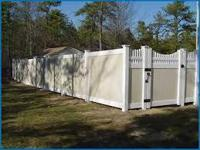 (-NO-HOMEDEPOT) Quality &Long Lasting PVC Fence I CARRY
